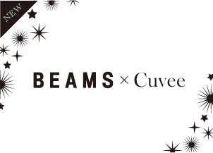 BEAMS×CUVEE